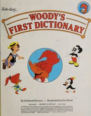Cover of: Woody's first dictionary