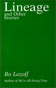 Cover of: Lineage and other stories