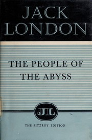 Cover of: The People of the Abyss