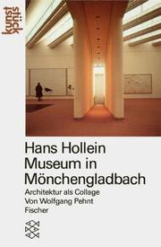Cover of: Hans Hollein Museum in Mönchengladbach