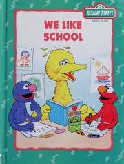 Cover of: We like school