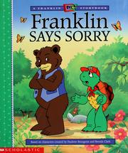 Cover of: Franklin says sorry