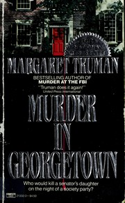 Cover of: Murder in Georgetown