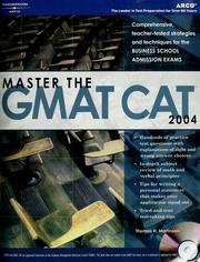 Cover of: Master the GMAT CAT, 2004