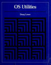 Cover of: OS utilities