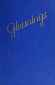 Cover of: Gleanings