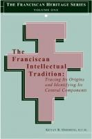 Cover of: The Franciscan intellectual tradition