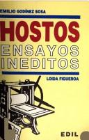 Cover of: Hostos (ensayos inéditos)