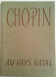 Cover of: Chopin au pays natal
