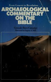Cover of: Archaeological commentary on the Bible
