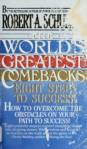 Cover of: The world's greatest comebacks