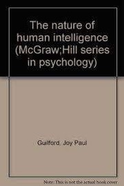 Cover of: The nature of human intelligence