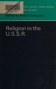 Cover of: Religion in the U.S.S.R