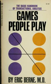 Cover of: Games people play