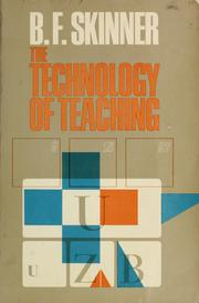 Cover of: The technology of teaching