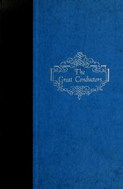 Cover of: The great conductors