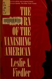 Cover of: The return of the vanishing American