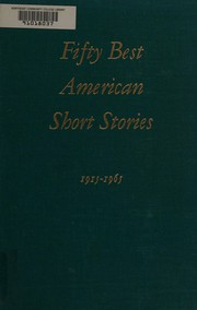 Cover of: Fifty Best American Short Stories