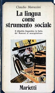 Cover of: La lingua come strumento sociale