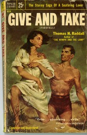 Cover of: Give and take: =Tidefall : a novel of the sea