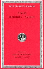 Cover of: Ovid in six volumes