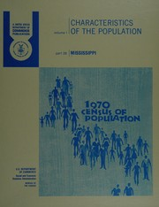 Cover of: Population: Characteristics of the population.