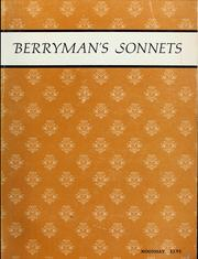 Cover of: Berryman's Sonnets