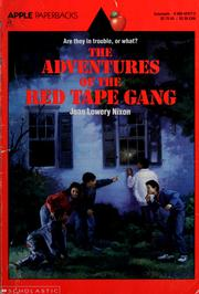 Cover of: Adventures of the Red tape gang
