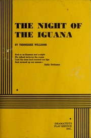 Cover of: The night of the iguana