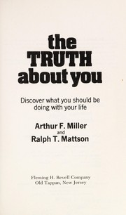 Cover of: The truth about you