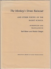 Cover of: The Monkey's straw raincoat and other poetry of the Basho school