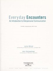 Cover of: Everyday encounters