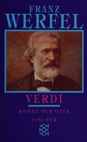 Cover of: Verdi: Roman der Oper