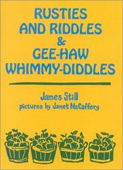 Cover of: Rusties and riddles & gee-haw whimmy-diddles