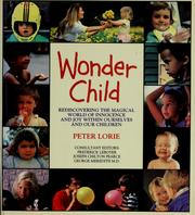Cover of: Wonder child