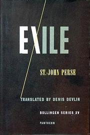 Cover of: Exile: and other poems
