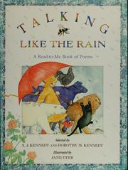 Cover of: Talking like the rain