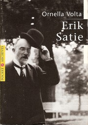Cover of: Erik Satie
