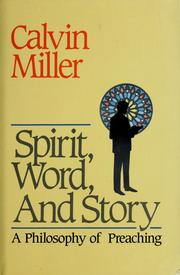 Cover of: Spirit, word, and story