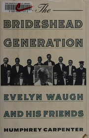Cover of: The brideshead generation
