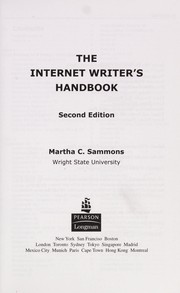 Cover of: The Internet writer's handbook