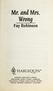 Cover of: Mr and Mrs Wrong: 9 Months Later (Harlequin Superromance No. 1012)