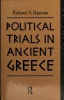 Cover of: Political trials in ancient Greece