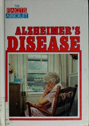 Cover of: The facts about Alzheimer's disease