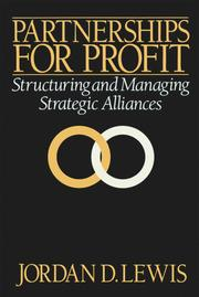 Cover of: Partnerships for Profit