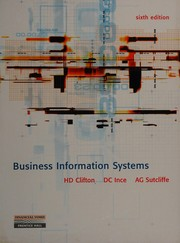 Cover of: Business information systems