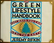 Cover of: The Green lifestyle handbook
