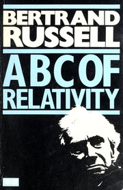 Cover of: The ABC of relativity