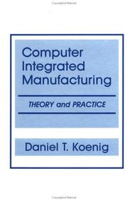 Cover of: Computer-integrated manufacturing