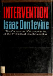 Cover of: Intervention. --